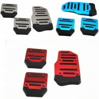 US $4.69 6% OFF|Universal Aluminum Manual Transmission 3 pcs Non Slip Car Pedal Cover Set Kit Pedali Red/Blue/Silver car styling-in Pedals from Automobiles & Motorcycles on Aliexpress.com | Alibaba Group