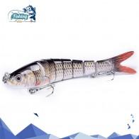 267.35 руб. 50% СКИДКА|1 шт. Рыболовная Приманка 14 см 27 г жесткая приманка воблер мульти соединенный тонущий Swimbait жесткая искусственная приманка приманки для рыб купить на AliExpress