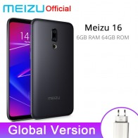 US $249.07 19% OFF|Meizu 16 6GB 64GB Global Version Smartphone Snapdragon 710 Octa Core Mobile Phone Front 20MP 3100mAh In Screen Fingerprint-in Cellphones from Cellphones & Telecommunications on Aliexpress.com | Alibaba Group