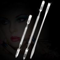 € 0.6 24% de DESCUENTO|1 piezas de herramientas de maquillaje de acero inoxidable mezclando espátula de manicura herramienta de barra Dental de uñas espátula maquiagem espátula maquillaje-in rizador de pestañas from Belleza y salud on Aliexpress.com | Alibaba Group
