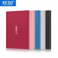 """Кесу 2,5 """"Металл Портативный внешний жесткий диск USB3.0 120 ГБ 160 ГБ 250 ГБ 320 ГБ 500 ГБ 1 ТБ 2 ТБ HDD External HD Жесткий диск 5 цветов купить на AliExpress"""
