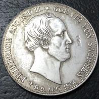 123.59 руб. 41% СКИДКА|1854 Королевство Саксония 2 Thaler немецкая монета с серебряным покрытием копия-in Декоративные монеты from Дом и сад on Aliexpress.com | Alibaba Group