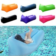 US $16.79 40% OFF|Inflatable Beach Sleeping Bag Folding Sofa For Kids Adult Outdoor Camping Travel Relax Air Sleeping Bed Lazy Pouf Beach Cushion-in Sleeping Bags from Sports & Entertainment on Aliexpress.com | Alibaba Group