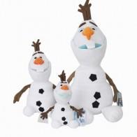 23 см/30 см/50 см снеговик Олаф плюшевые игрушки мягкие плюшевые куклы Kawaii мягкие животные для детей рождественские подарки