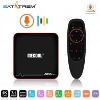 2649.87 руб. 18% СКИДКА|MECOOL M8S Pro W Google Smart TV BOX Android 7,1 голос Управление Amlogic S905W, 2 Гб оперативной памяти, 16 Гб встроенной памяти, потокового Google Play Netflix Сталкер купить на AliExpress
