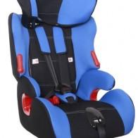 Купить Автокресло группа 1/2/3 (9-36 кг) Siger Космо, синий по низкой цене с доставкой из маркетплейса Беру