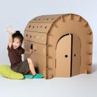 Детская сборка, большой бумажный дом, граффити, креативный ручной работы, сделай сам, родитель-ребенок, игрушка с цветной вставкой, игровой д... - Небанальные детские игрушки