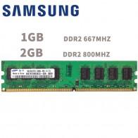 290.15руб. |Samsung 1 Гб 2 Гб для рабочего стола, DDR2 PC2 памяти 667 800 МГц 667 800 МГц rf модуль 1Г 2Г сети 5300 6400 Оперативная память 5300U 6400U памяти компьютера-in ОЗУ from Компьютер и офис on AliExpress