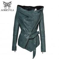 2499.88 руб. 50% СКИДКА|AORRYVLA/Брендовая женская кожаная куртка с капюшоном и поясом, повседневная куртка, Женская коллекция, пальто из искусственной кожи высокого качества-in Кожа и замша from Женская одежда on Aliexpress.com | Alibaba Group