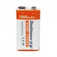 462.32 руб. 20% СКИДКА|1 шт. doulepow 9 в 1000 мАч литий ионная аккумуляторная батарея 9 вольт LSD литиевая Recargable Bateria с 1200 циклом-in Подзаряжаемые батареи from Бытовая электроника on Aliexpress.com | Alibaba Group