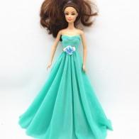 101.55 руб. 25% СКИДКА|2015 платье ручной работы для куклы, лучший рождественский подарок для малышей h496 купить на AliExpress