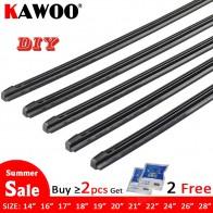 US $1.57 31% OFF|KAWOO Car Vehicle Insert Rubber strip Wiper Blade (Refill) 8mm Soft 14