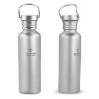 750ml / 600ml TOMSHOO Full Titanium Water Bottle Ultralight Outdoor Camping Hiking Cycling Water Bottle with Extra Plastic Lid-in Outdoor Tablewares from Sports & Entertainment on AliExpress