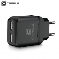 US $4.99 30% OFF|Cafele Portable Dual USB Charger EU/ US Universal DC 5V 2.4Ax2 12W Portable Charger for iPhone Samsung Phone Charger-in Chargers from Consumer Electronics on Aliexpress.com | Alibaba Group