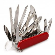 500.42 руб. 49% СКИДКА|Многофункциональный швейцарский 91 мм складной нож из нержавеющей стали многофункциональный инструмент армейские ножи карманный нож для охоты, походов нож для выживания-in Ножи from Орудия on Aliexpress.com | Alibaba Group