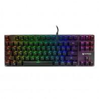 Клавиатура RAPOO V500RGB Alloy, черный