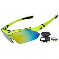 778.96 руб. 51% СКИДКА|Профессиональный Велоспорт очки UV400 поляризованные очки Велоспорт велосипед очки солнцезащитные очки Gafas Cicismo очки 5 Объектив купить на AliExpress