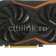 Видеокарта GIGABYTE nVidia  GeForce GTX 1050TI ,  GV-N105TG1 GAMING-4GD
