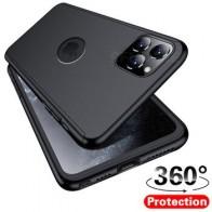 360 градусов полное покрытие чехол для телефона iPhone 11 Pro XS Max 7 8 5 6s PC жесткий чехол Защитный чехол для iPhone 7 8 6 Plus X XR чехол
