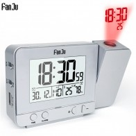 US $10.04 33% OFF|Fanju FJ3531 Projection Alarm Clock Digital Date Snooze Function Backlight Rotatable Wake Up Projector Multifunctional Led Clock-in Alarm Clocks from Home & Garden on Aliexpress.com | Alibaba Group