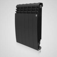 Купить Радиатор биметалл RT BiLiner 500/87/6 секц Noir Sable(черный) в Ульяновске