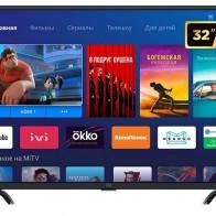 Купить Телевизор Xiaomi Mi TV 4A 32 T2 черный по низкой цене с доставкой из маркетплейса Беру
