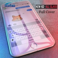 US $1.44 63% OFF|TeoYall Full 6D Edge Tempered Glass For iPhone X XS 7 8 6 6s Plus Screen Protector on iPhone 7 8 6 10 XS MAX XR Glass Protective-in Phone Screen Protectors from Cellphones & Telecommunications on Aliexpress.com | Alibaba Group