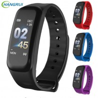 € 11.35 |Hangrui C1 Plus bande intelligente Sport Fitness Tracker moniteur de fréquence cardiaque Bracelet bande intelligente montre bracelet Bracelet PK Mi bande 3-in Smart Bracelets from Electronique on Aliexpress.com | Alibaba Group