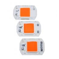 Ac220в 110 В COB светодиодный фито-чип лампа полный спектр 50 Вт 30 Вт 20 Вт светодиодный Диод для выращивания растений - Электроника
