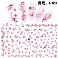25.51 руб. 20% СКИДКА|1 лист Розовые сливы/садовые цветы/Dande 3D тисненые наклейки на ногти Цветок Клей DIY маникюр слайдер ногтей советы-in Наклейки и наклейки from Красота и здоровье on Aliexpress.com | Alibaba Group