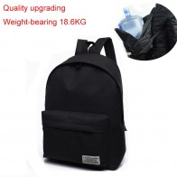 US $9.3 48% OFF|2018 Men Male Canvas black Backpack College Student School Backpack Bags for Teenagers Mochila Casual Rucksack Travel Daypack-in Backpacks from Luggage & Bags on Aliexpress.com | Alibaba Group