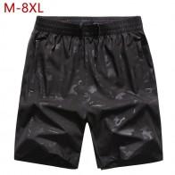 753.96 руб. 49% СКИДКА|Большие размеры M 8XL мужские повседневные летние шорты черные быстросохнущие мужские шорты с эластичной резинкой на талии тонкие дышащие шорты для мужчин-in Шорты from Мужская одежда on Aliexpress.com | Alibaba Group