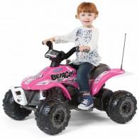 Детский квадроцикл Peg Perego Corral Bearcat Pink ED1166 - Детские электромобили