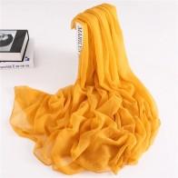 281.77 руб. 30% СКИДКА|2019 дизайнерский брендовый женский шарф, летние шелковые шарфы с крокодиловой складкой для женщин, шали, пашмины, Женская бандана foualrd hijabs купить на AliExpress
