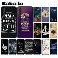 € 0.87 35% de DESCUENTO|Babaite teléfono caso Harry Potter ¡Avada diseño negro Funda del teléfono para Huawei P9 P10 más Mate9 10 Mate10 Lite P20 Pro Honor10 View10 en Medio-envuelto caso de Teléfonos y Telecomunicaciones en AliExpress.com | Alibaba Group