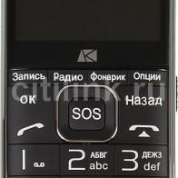 Мобильный телефон ARK Power F1 черный