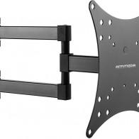 "Кронштейн для телевизора Arm Media MARS-04 черный 20""-43"" макс.20кг настенный поворот и наклон"