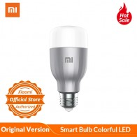 US $20.89 12% OFF|Xiaomi LED Smart Bulb Colorful Version APP WIFI Remote Control 10W 800 Lumens 16 Millions Color Temperature Lamp-in Smart Remote Control from Consumer Electronics on AliExpress - 11.11_Double 11_Singles