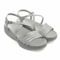 Купить Сандалии дышащие Walkmaxx Pure Elegant 2.0. Цвет: серебряный. Размер: 39 на сайте Топ Шоп