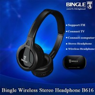 US $17.51 37% OFF|New Original Bingle B616 Headphones Multifunction Stereo Wireless with Microphone FM Radio for MP3 PC TV Audio Headset-in Bluetooth Earphones & Headphones from Consumer Electronics on Aliexpress.com | Alibaba Group