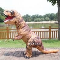 1312.71 руб. 19% СКИДКА|Надувной динозавр T REX костюмы для взрослых, для детей, женщин, мужчин, Blowup, динозавр, карнавал, Хэллоуин, динозавр, косплей, костюм, талисман, вечерние-in Костюмы аниме from Новый и особенный в использовании on Aliexpress.com | Alibaba Group