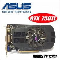 2852.05 руб. |Asus GTX 750TI OC 2GB GTX750TI GTX 750TI 750 2G D5 DDR5 128 бит настольных ПК Графика карты PCI Express 3,0 компьютеров видео-in Графические карты from Компьютер и офис on Aliexpress.com | Alibaba Group