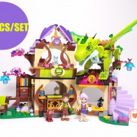 US $26.66 24% OFF|New Elves fairy Secret Place parenting fit legoings elves fairy friends figures model building blocks bricks 41176 toy gift kid-in Blocks from Toys & Hobbies on Aliexpress.com | Alibaba Group