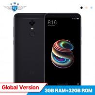 12398.48 руб. |Глобальная версия Xiaomi Redmi 5 плюс 3 ГБ Оперативная память 32 ГБ Встроенная память 5,99