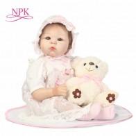 3516.6 руб. 50% СКИДКА|NPK Baby Reborn Мягкая силиконовая кукла ручной работы ткань тела Reborn игрушечные пупсы, куклы для детей лучшие подарки для детей Brinquedos-in Куклы from Игрушки и хобби on Aliexpress.com | Alibaba Group