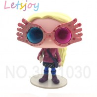 US $7.99 33% OFF|Official the Deathly Hallows kawaii action figure pop  vinyl Harry potter sorcerer stone magic world doll luna with glasses-in Action & Toy Figures from Toys & Hobbies on Aliexpress.com | Alibaba Group