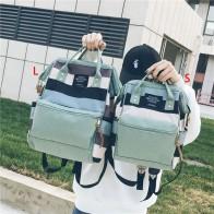 1009.08 руб. 41% СКИДКА|2018 корейский стиль девушки холст школьный рюкзак женщины kanken Рюкзак Мода девушка дорожные сумки Mochila feminina escolar bagpack купить на AliExpress