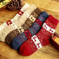 US $1.34 39% OFF|1Pair Winter Women Socks Keep Warm Christmas Gift Mid calf Socks Snowflake Deer Comfortable Soft Sokken Calcetines Mujer-in Socks from Underwear & Sleepwears on Aliexpress.com | Alibaba Group