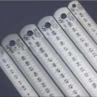103.7руб. 20% СКИДКА|Стальная линейка толще чертёжные принадлежности аппаратные инструменты линейка двусторонняя для офиса и школы kawaii-in Линейки from Офисные и школьные принадлежности on AliExpress - 11.11_Double 11_Singles