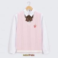 1503.33 руб. |Японский женский милый вязаный жилет японская школьная форма для девочек JK сладкий свитер без рукавов белое розовое мороженое-in Пуловеры from Женская одежда on Aliexpress.com | Alibaba Group